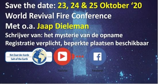 World Revival Fire Conference 2020 23- 24 -25 oktober