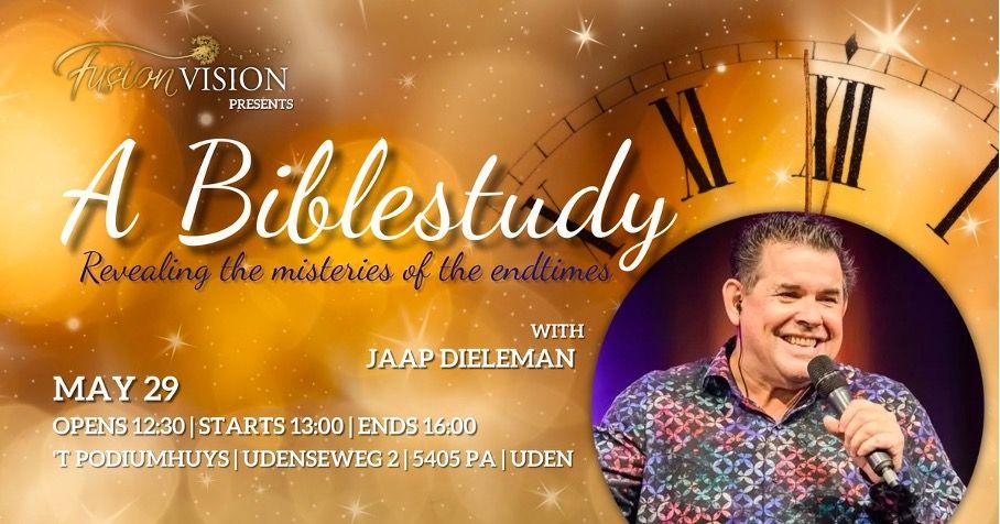29 mei 2021 vanaf 14:00 uur – Bijbelstudie met Jaap – Fusion Vision in Uden